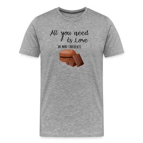 Tout le monde a besoin de chocolat - T-shirt Premium Homme