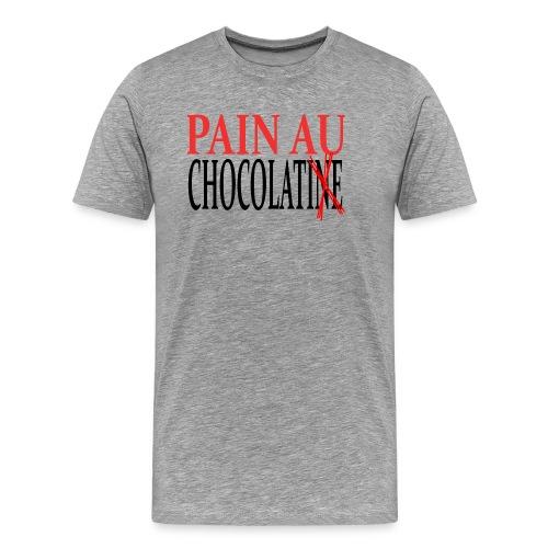 Pain au chocolat ou Chocolatine ? - T-shirt Premium Homme