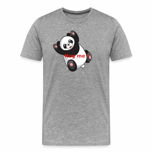 Panda Hug me - Männer Premium T-Shirt