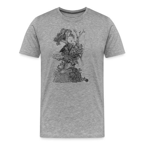 Demodern Design - Pattern Tree - Männer Premium T-Shirt