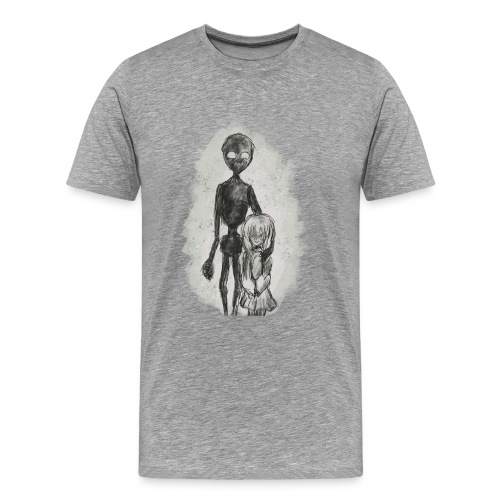 Strange Friends - Premium-T-shirt herr