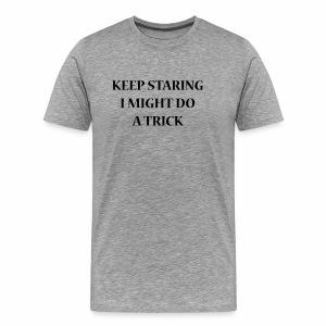 KEEPSTARING Nueva Std - Mannen Premium T-shirt