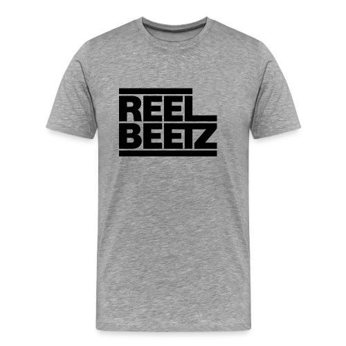 REEL BEETZ schwarz - Männer Premium T-Shirt