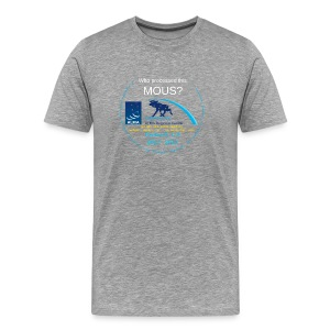 arcshirt stars blue moose - Men's Premium T-Shirt