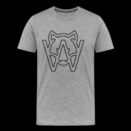 BLACK - Camiseta premium hombre