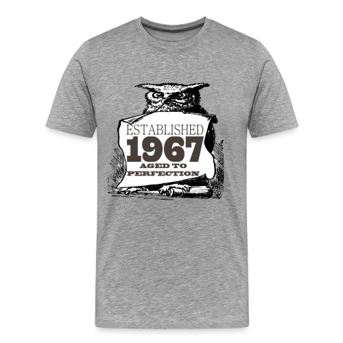 Established ____ Aged To Perfection - Men's Premium T-Shirt