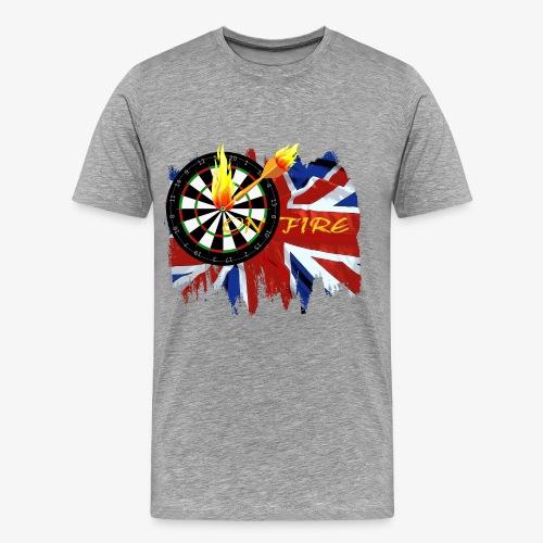 on fire - Männer Premium T-Shirt