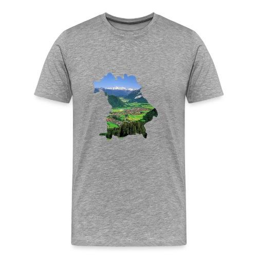 Allgäu Design - Männer Premium T-Shirt