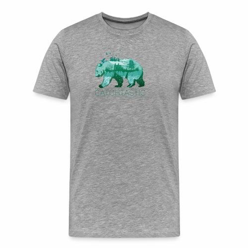 Bär Natur - Männer Premium T-Shirt