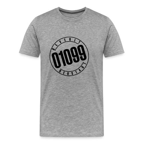 01099 Beverly Neustadt, Black - Männer Premium T-Shirt