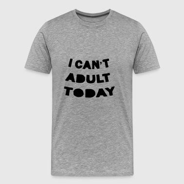 vuxna ämnen - Premium-T-shirt herr