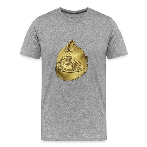 Casque pompier - T-shirt Premium Homme