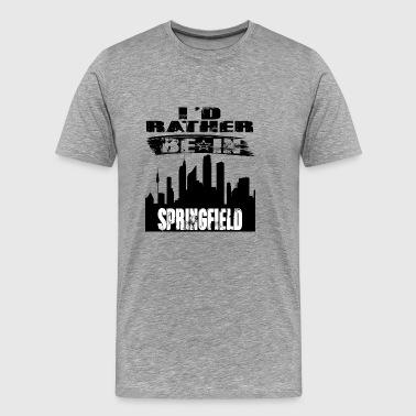 Gift ID är ganska i Springfield - Premium-T-shirt herr