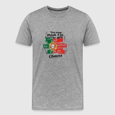 Feriehus i ROOTS reise i Portugal Chaves - Premium T-skjorte for menn