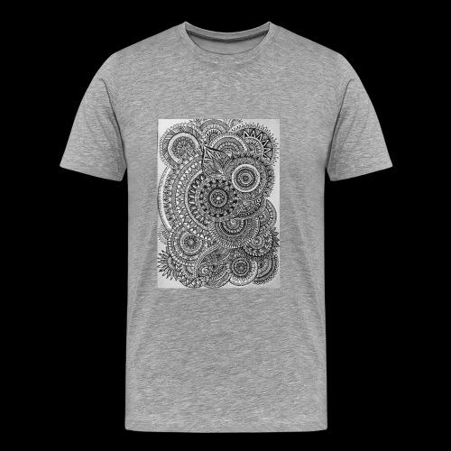 Chaos and Symmetry // - Men's Premium T-Shirt