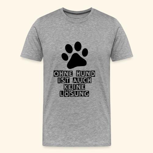 Das Shirt für Hundefreunde - Männer Premium T-Shirt