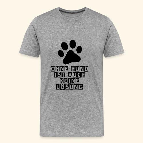 Accessoires für Hundefreunde - Männer Premium T-Shirt