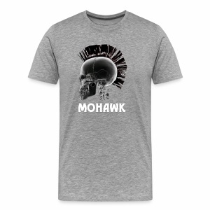 Skull black - Mannen Premium T-shirt