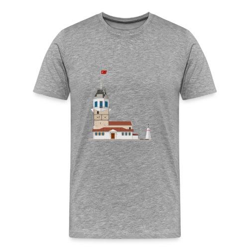 Kiz Kulesi - Mannen Premium T-shirt