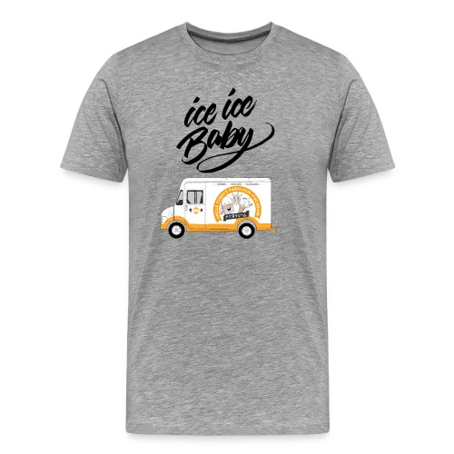 Ice Truck – Ice Ice Baby - Männer Premium T-Shirt