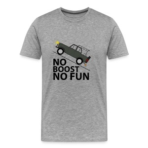 No Boost No Fun - Männer Premium T-Shirt