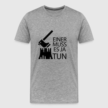 leñador - Camiseta premium hombre