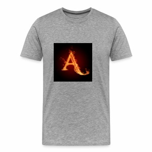 The letter A the letter a 22186960 2560 2560 - Men's Premium T-Shirt