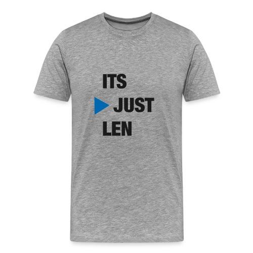 ItsJustLen - Männer Premium T-Shirt