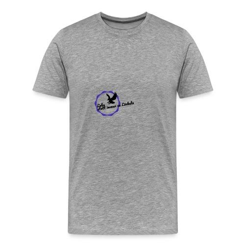 Lebe statt immer zu Lächeln - Männer Premium T-Shirt