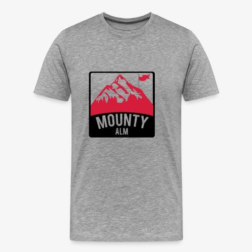 MountyAlm - Männer Premium T-Shirt
