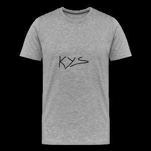 Kys - Premium T-skjorte for menn