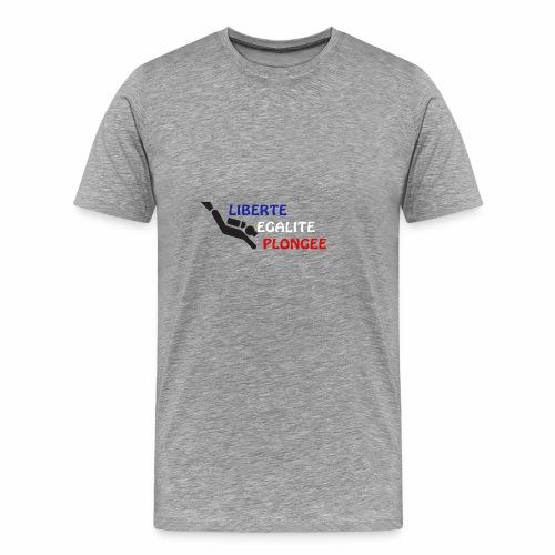 devise plongée - T-shirt Premium Homme