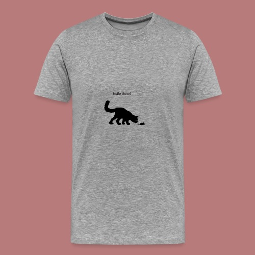 Hello there - Männer Premium T-Shirt