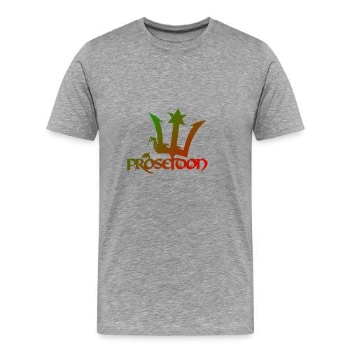 Proseidon Official Logo Rasta - Männer Premium T-Shirt
