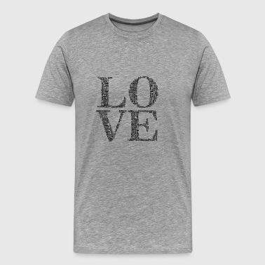 Liefde en Liefde - Mannen Premium T-shirt
