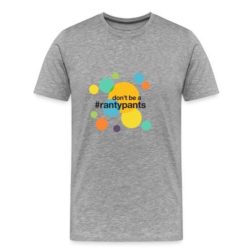 #rantypants (light background) - Men's Premium T-Shirt