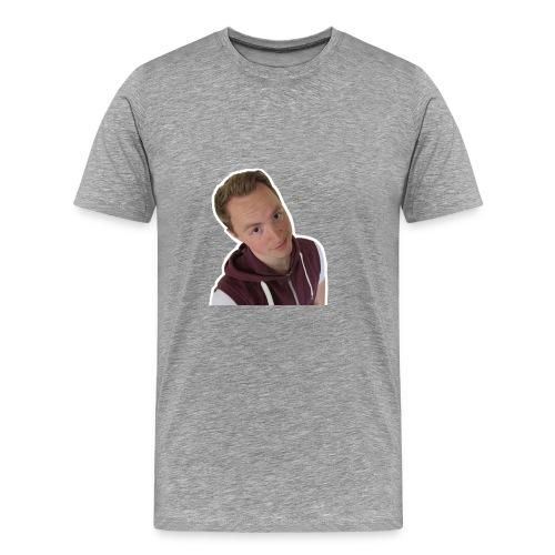 Rotjoch cap - Mannen Premium T-shirt