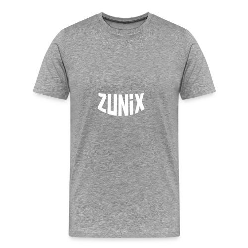 Zunix T-Shirt Vrouw Logo Big - Mannen Premium T-shirt