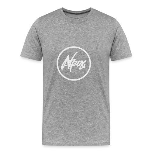 Atrox Logo White Transparent - Men's Premium T-Shirt