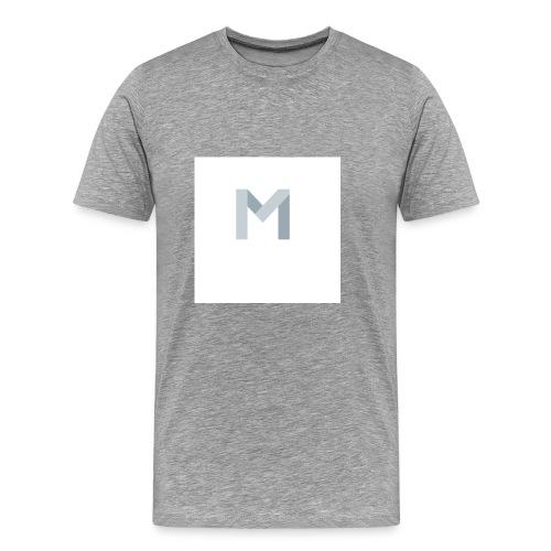 Mein Anfangsbuchstabe von meinem Namen - Männer Premium T-Shirt