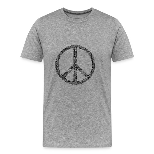 PEACE statement design - Männer Premium T-Shirt