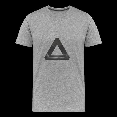 Glitch Dreieck - Männer Premium T-Shirt