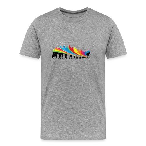 Vielfalt Regenbogen - Männer Premium T-Shirt