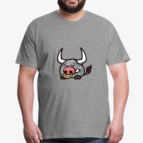 Digit Camo Bumpety - Männer Premium T-Shirt