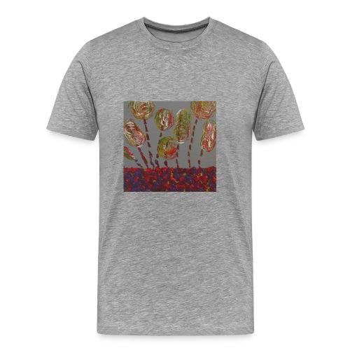 des fleurs - T-shirt Premium Homme