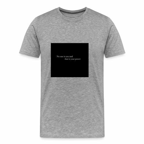 inspirational quote - Men's Premium T-Shirt