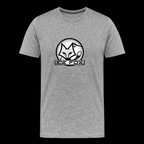 Ice Fox Logo - Mannen Premium T-shirt