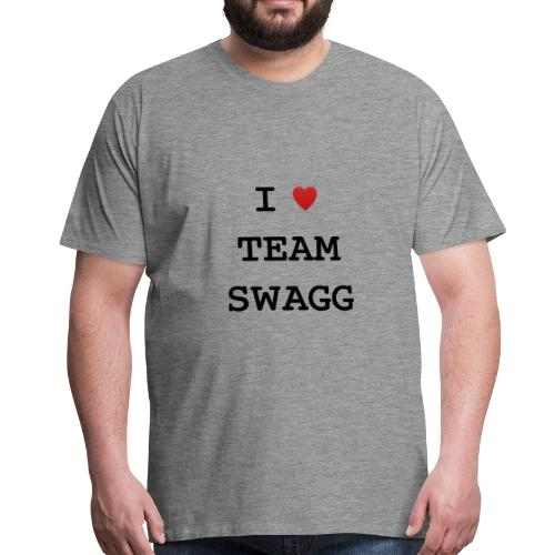 I LOVE TEAMSWAGG - T-shirt Premium Homme