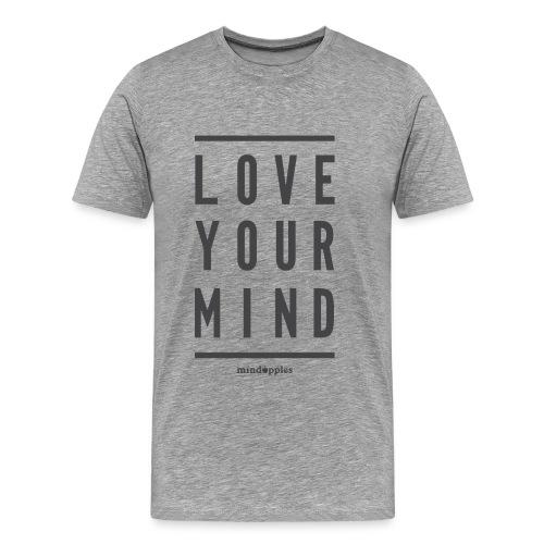 Mindapples Love your mind merchandise - Men's Premium T-Shirt