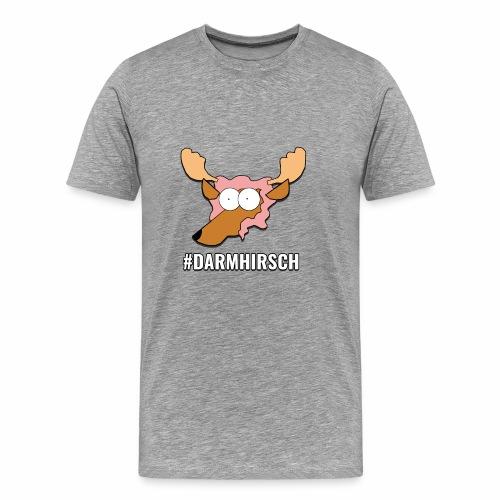 Darmhirsch - Männer Premium T-Shirt